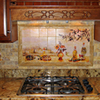 Tile adds artistic style to any room.